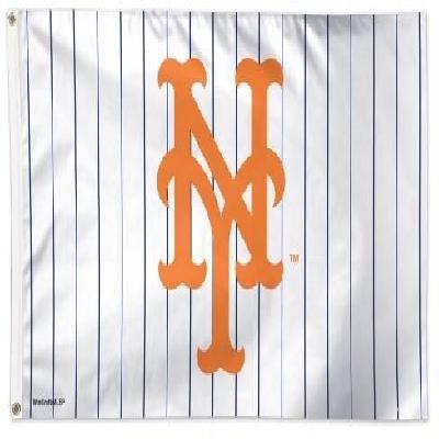 New York Mets Flag 3x5 Pinstripe
