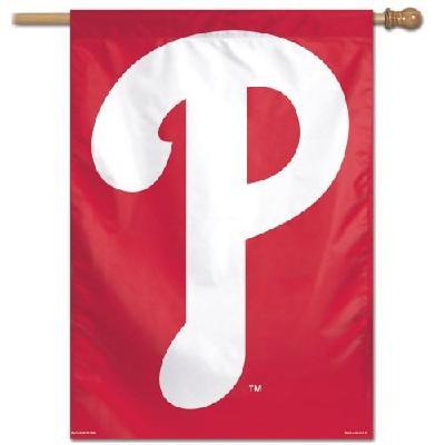 Philadelphia Phillies Banner Vertical House Flag P Logo