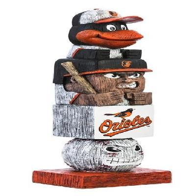 Baltimore Orioles MLB Tiki Totem Statue