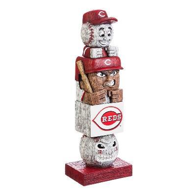 Cincinnati Reds MLB Tiki Totem Statue Baseball