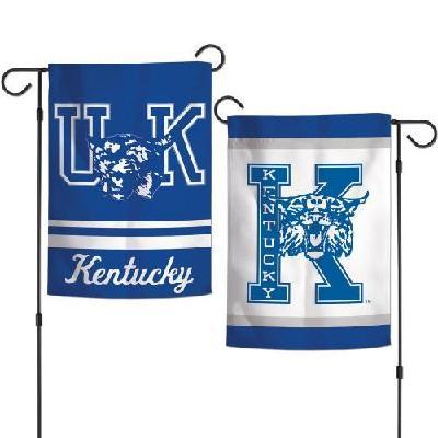 University of Kentucky Garden Flag 2 Sided Throwback Logo