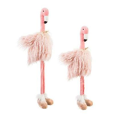 Telescoping Fabric Flamingo with Tutu