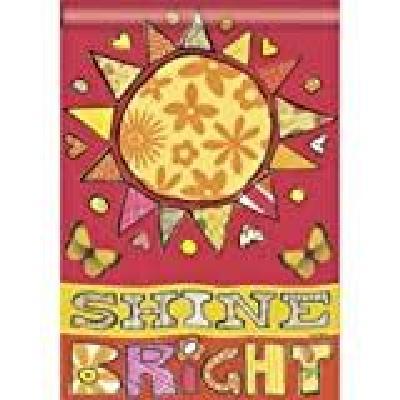 Shine Bright Sunshine Flag Decorative House Banner