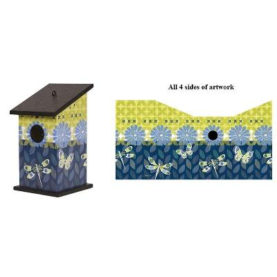 Capistrano Medley Birdhouse Painted Peace Collection