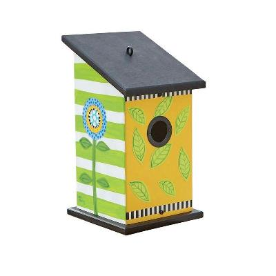 Frolic Leaf and Flower Birdhouse