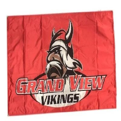 Grand View University Vikings 2 Sided 3x5 Flag