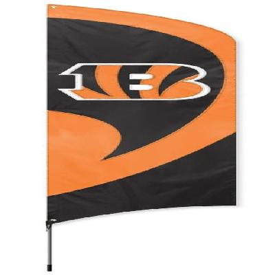 Cincinnati Bengals NFL Tall Team Feather Flag with Flagpole