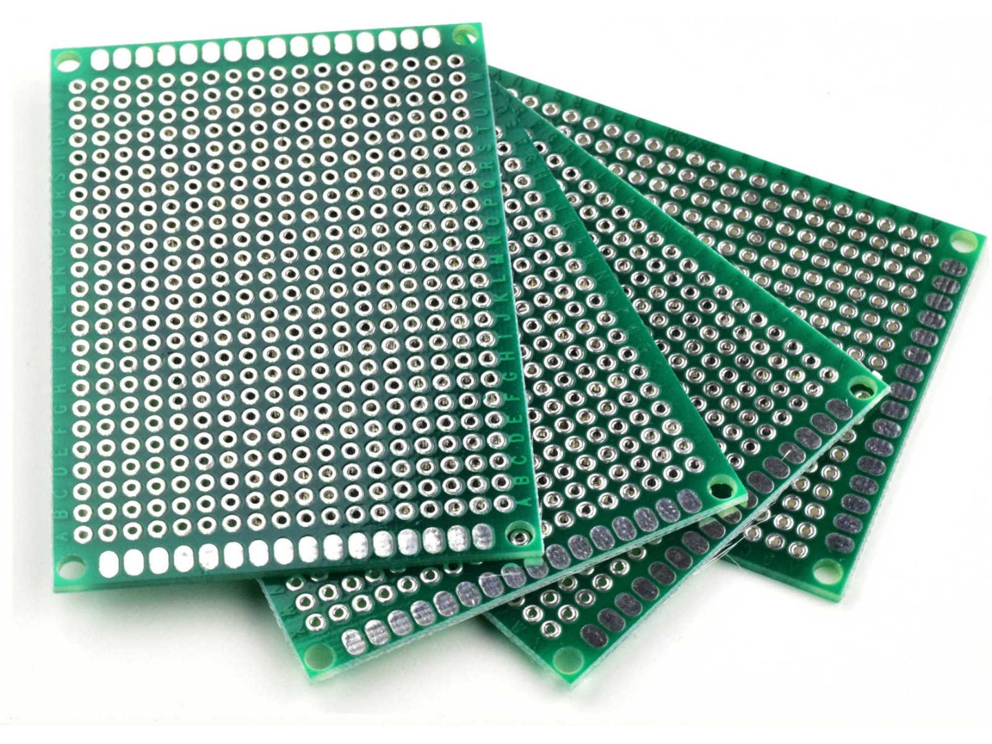 40PCs PCB Double-Sided Prototyping PCBs Circuit Boards Kit 5 Size Universal For