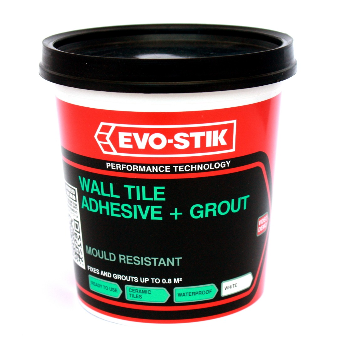 Evo-Stik Mould Resistant Wall Tile Adhesive & Grout ...