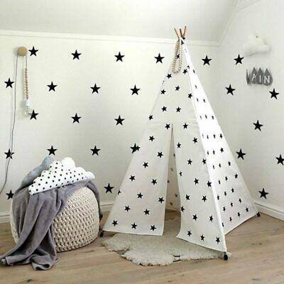Star-Shape-Wall-Stickers-Kids-Girls-Boys-Bedroom-Baby-Nursery-Stars-Vinyl-Decal thumbnail 22