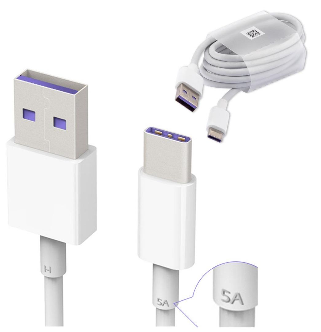 Cargador-rapido-estupendo-EU-2A-Cable-De-Alimentacion-De-Red-Tipo-C-Para-Huawei-P9-P10-P20-Mate-20
