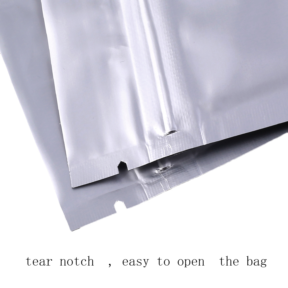 All Clear Grip Seal Zipper Bags Flat Pouch BPA Smell Free Strong For Food Spices