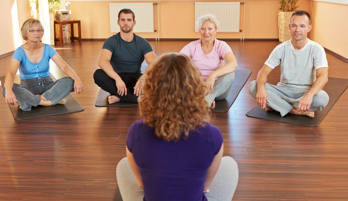 Yoga Helps High Blood Pressure
