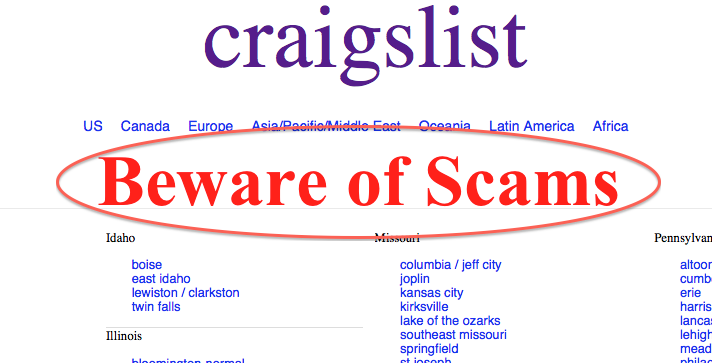 How to avoid Craigslist scammers posing as buyers - SeniorNews