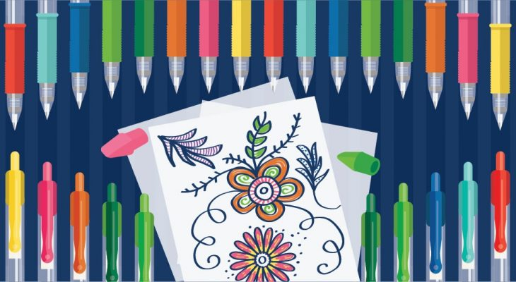 Best Gel Pens for Adult Coloring