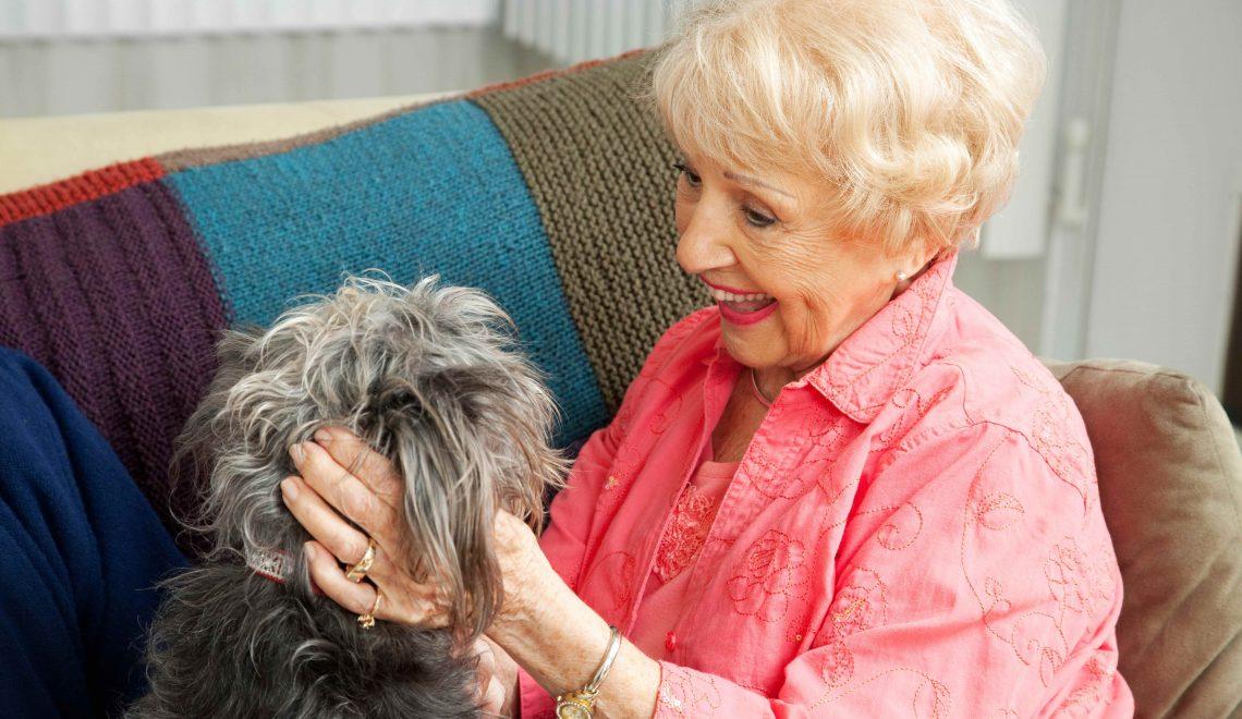 How Pets Keep Seniors Healthy & Happy