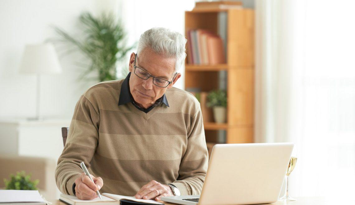 Working aged man