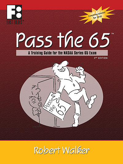 First Books Publishes New Edition of Bestselling PASS THE 65
