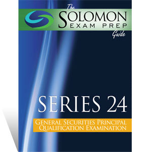 Series 24 Exam Study Guide