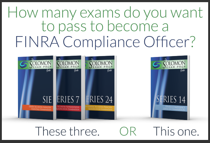 Do you need to become a FINRA Compliance Officer?