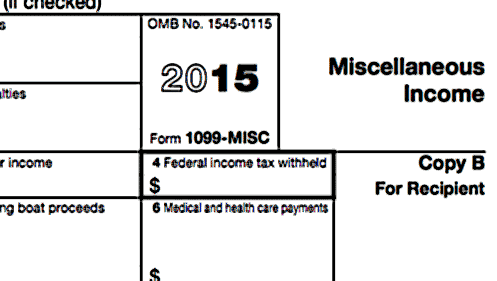 Send Form 1099 to independent contractors by January 31st