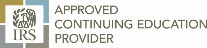 IRS Approved CE provider logo