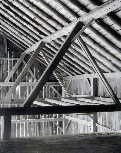 Barn, Framing from Loft