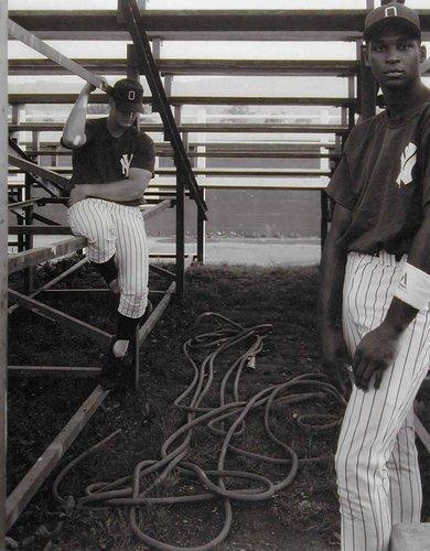 Ray Suplee and Kraig Hawkins, Oneonta Yankees