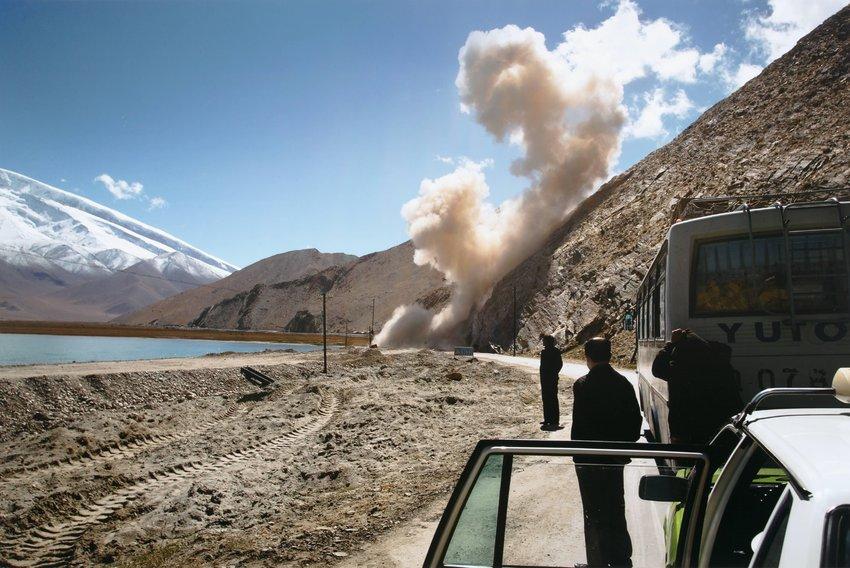 image of 'Untitled [Cars, smoke]'