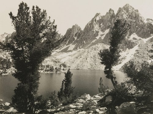Kearsarge Pinnacles, from the portfolio Parmelian Prints of the High Sierras