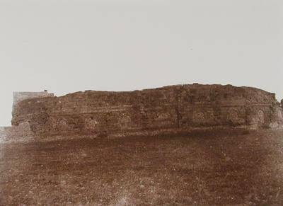 Djiblet. Ruines d'un Théâtre romain, extérieur (Jebleh, Ruins of a Roman Theater, Exterior)