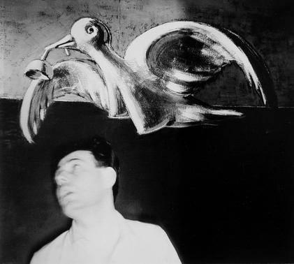 image of 'Self-Portrait with Love Bird'