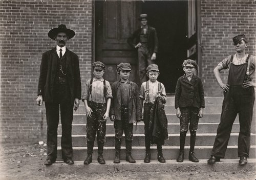 Untitled [Child workers, North Carolina]