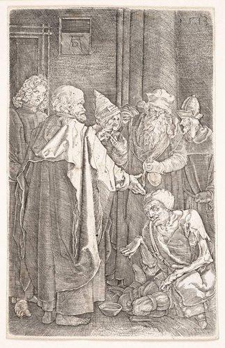 Saint Peter and Saint John Healing the Cripple