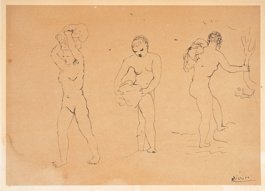 image of 'Untitled (Bathers)'
