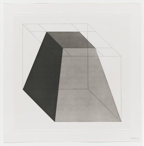 Forms Derived from a Cube, Plate #03