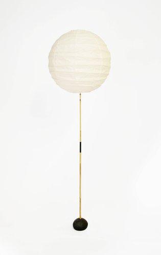 Bamboo floor lamp, model BB3/55DD