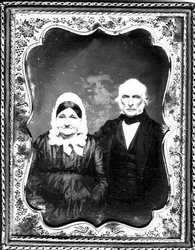 Untitled [Portrait of Quaker couple]