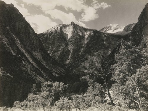Lower Paradise Valley, from the portfolio Parmelian Prints of the High Sierras