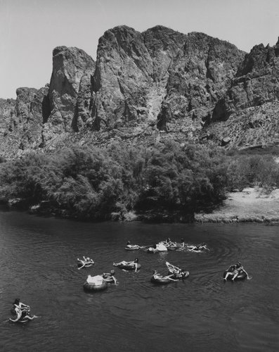 Tubers on Salt River, from the portfolio Leisure