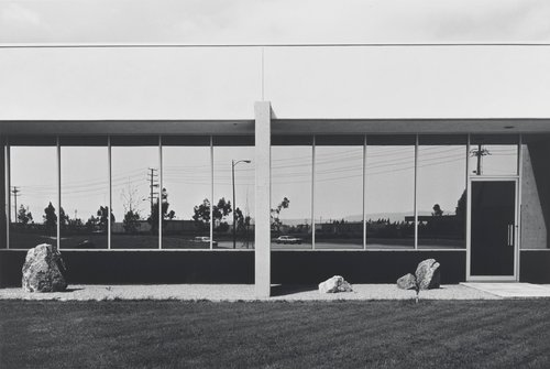 South Wall, Mazda Motors, 2121 East Main Street, Irvine, from the portfolio The New Industrial Parks near Irvine, California