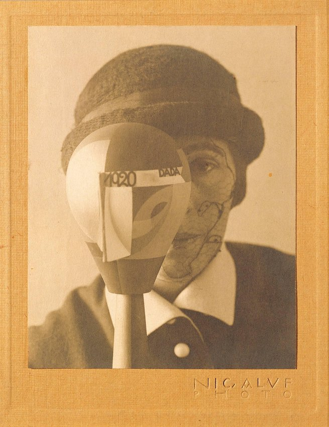 image of Self-Portrait with Dada-Kopf (Dada Head)