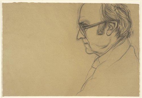 ROBERT DUNCAN, Profile Left (light version)