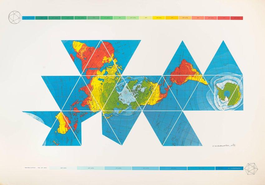 image of 'Dymaxion Air-Ocean World Map'