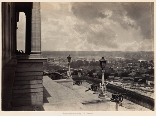 Nashville from the Capitol, from Photographic Views of Sherman's Campaign