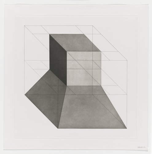 Forms Derived from a Cube, Plate #08