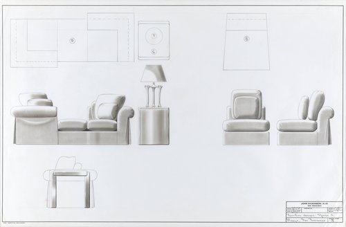 Furniture Designs for Space A, Macy's, San Francisco