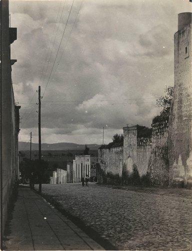 Untitled (Village Street)
