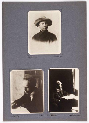 Hermann Graf Keyserling album, page 4