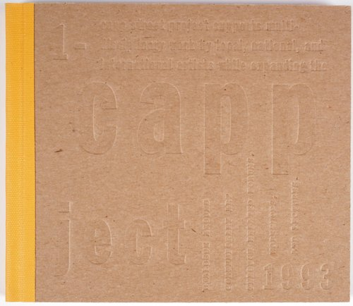 Capp Street Project Catalogue: 1991-1993